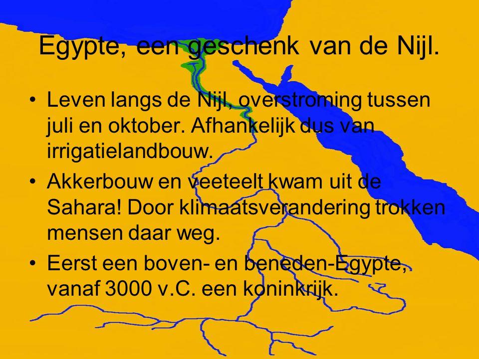 Egypte, een geschenk van de Nijl.