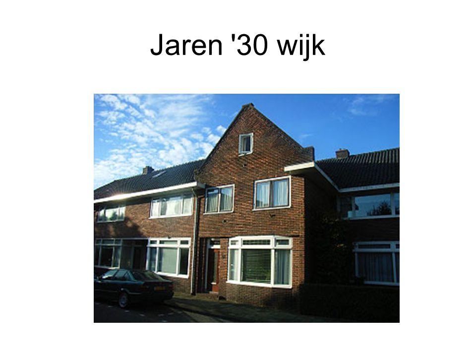 Jaren 30 wijk