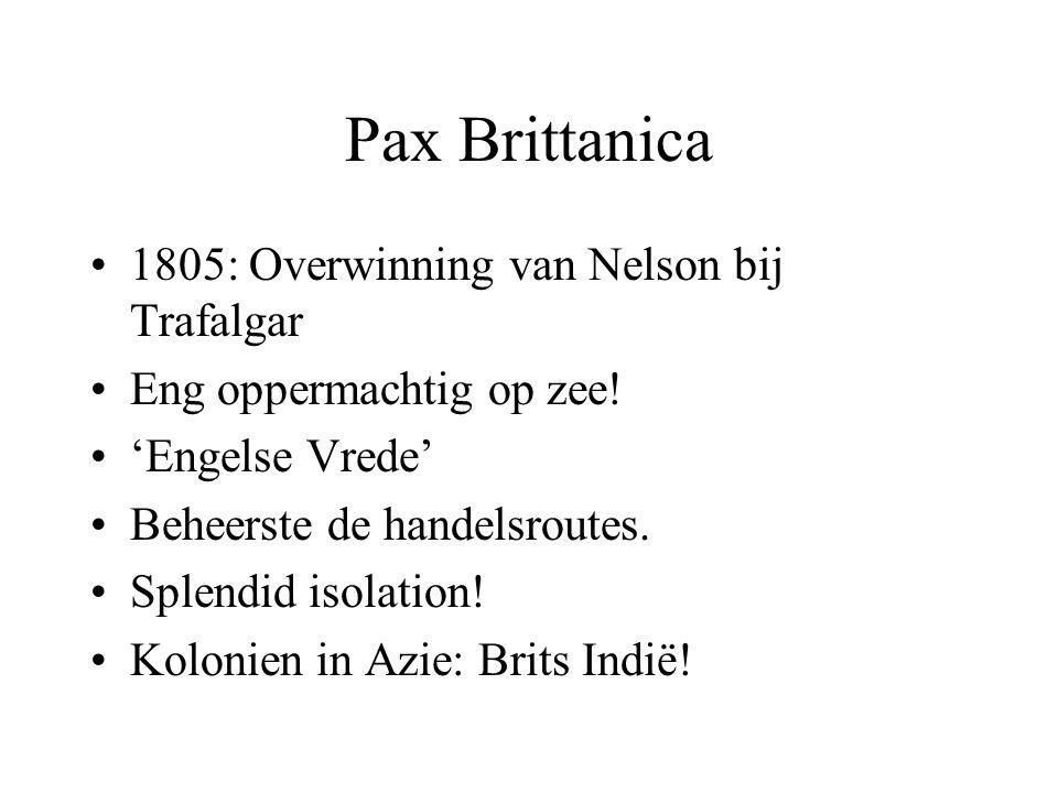 Pax Brittanica 1805: Overwinning van Nelson bij Trafalgar