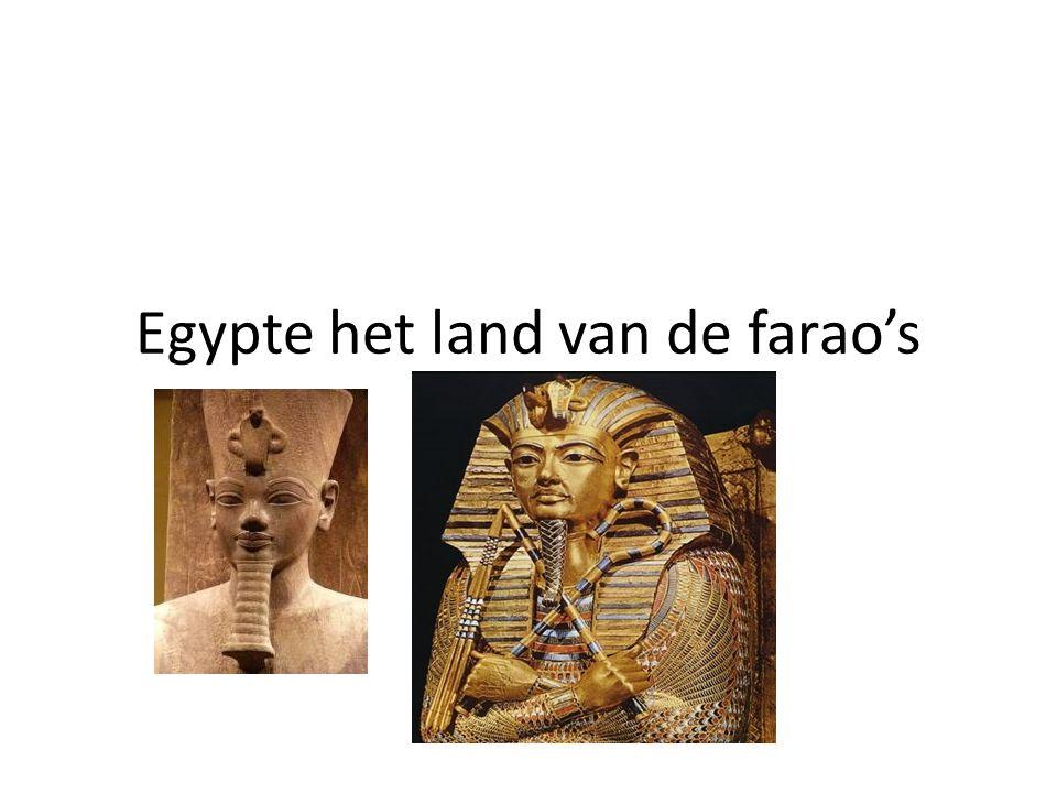 Egypte het land van de farao's