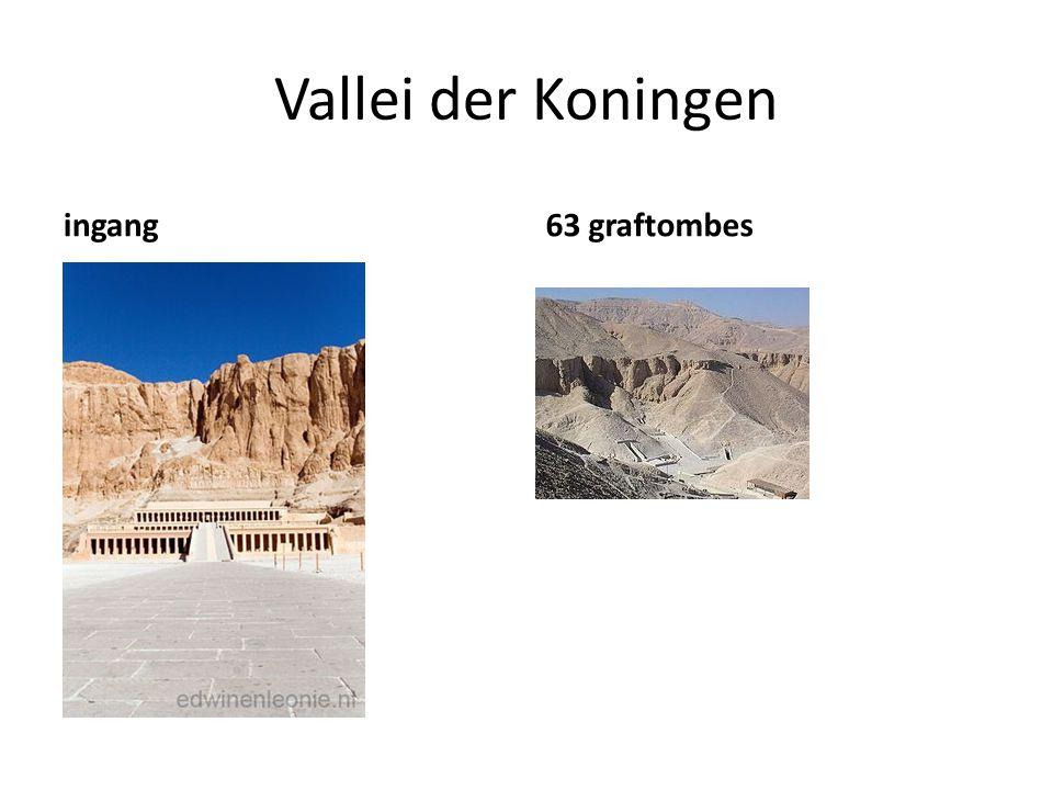 Vallei der Koningen ingang 63 graftombes