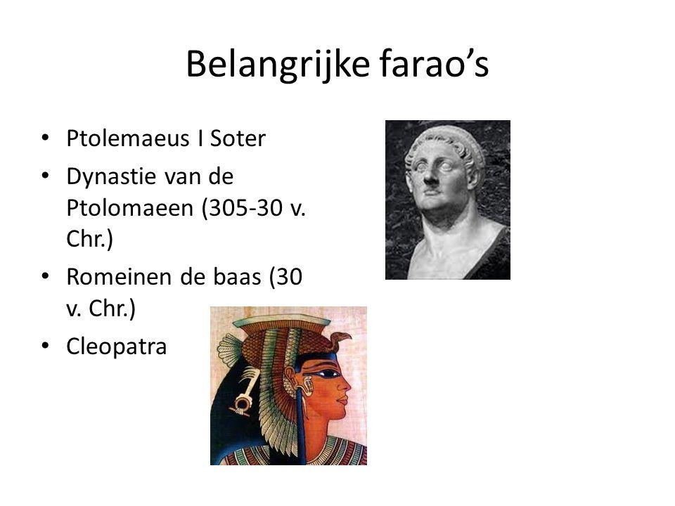 Belangrijke farao's Ptolemaeus I Soter