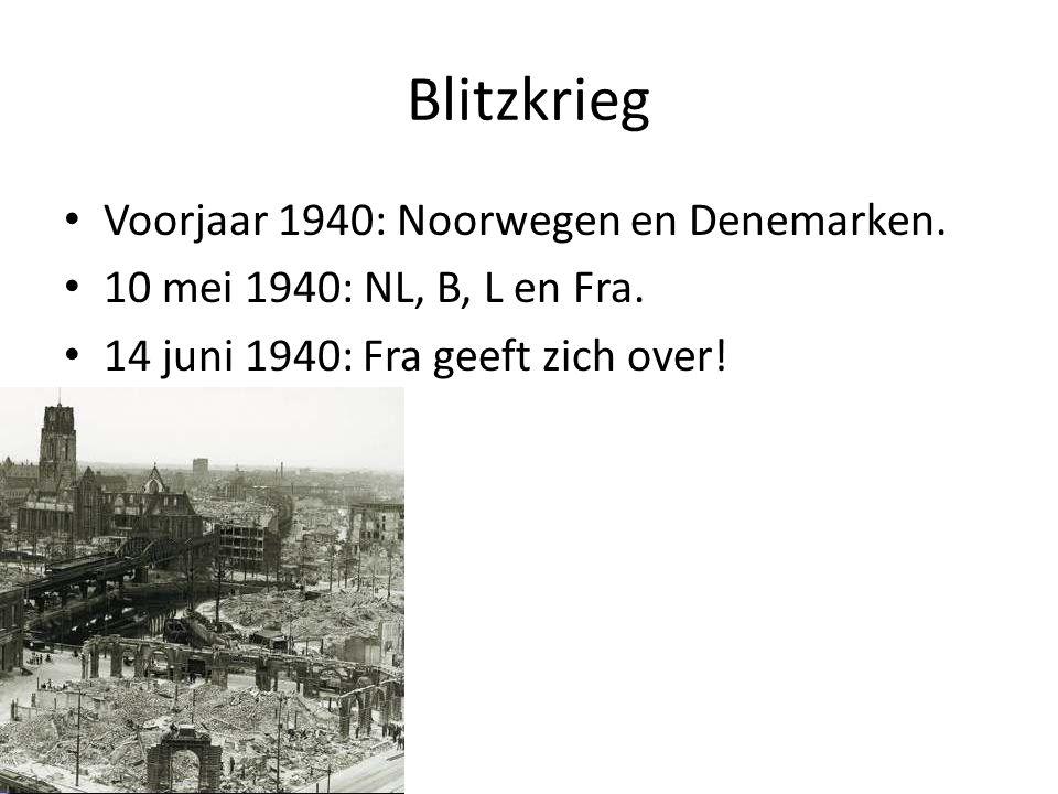 Blitzkrieg Voorjaar 1940: Noorwegen en Denemarken.