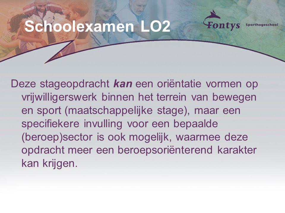 Schoolexamen LO2