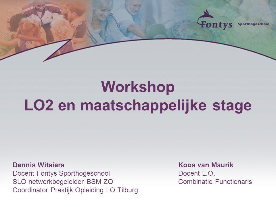 LO2 en maatschappelijke stage