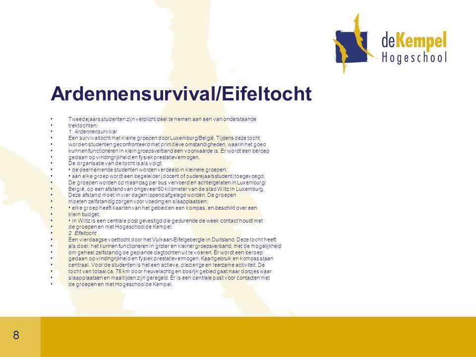 Ardennensurvival/Eifeltocht