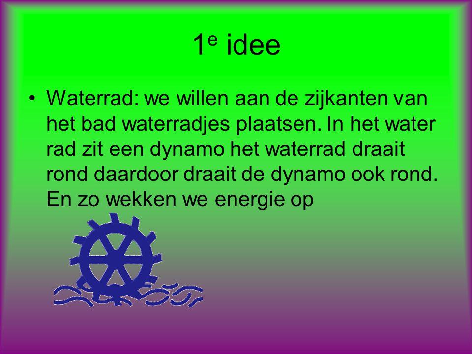 1e idee