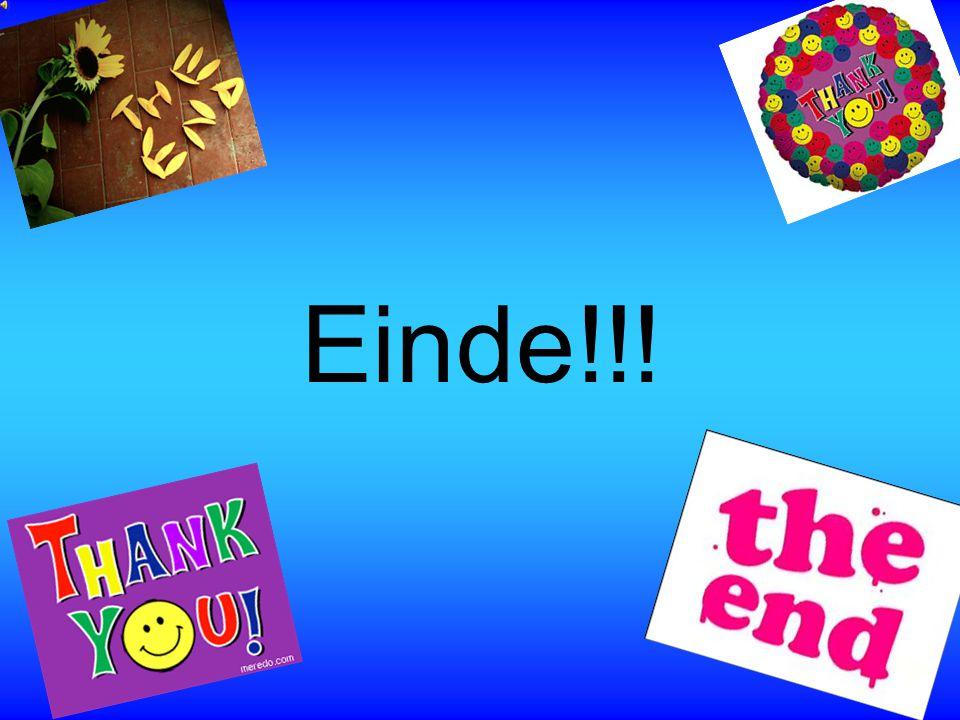 Einde!!!