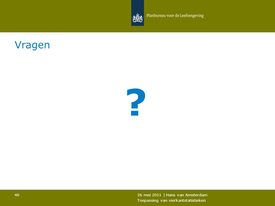 Vragen 26 mei 2011 | Hans van Amsterdam