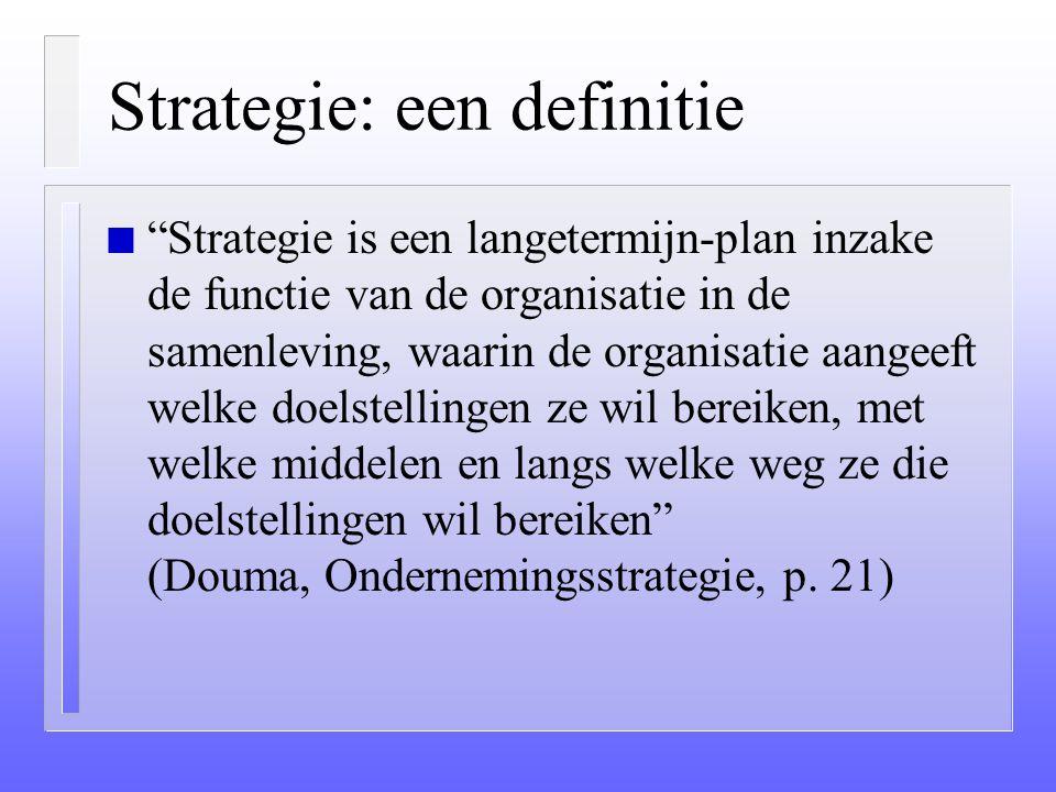 Strategie: een definitie