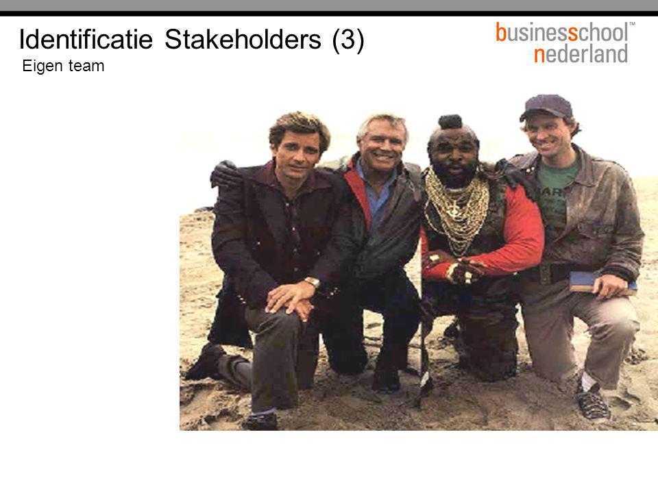 Identificatie Stakeholders (3)