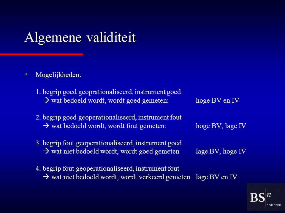 Algemene validiteit