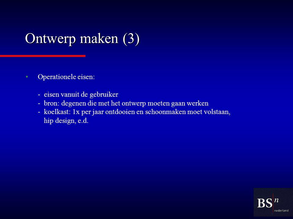 Ontwerp maken (3)