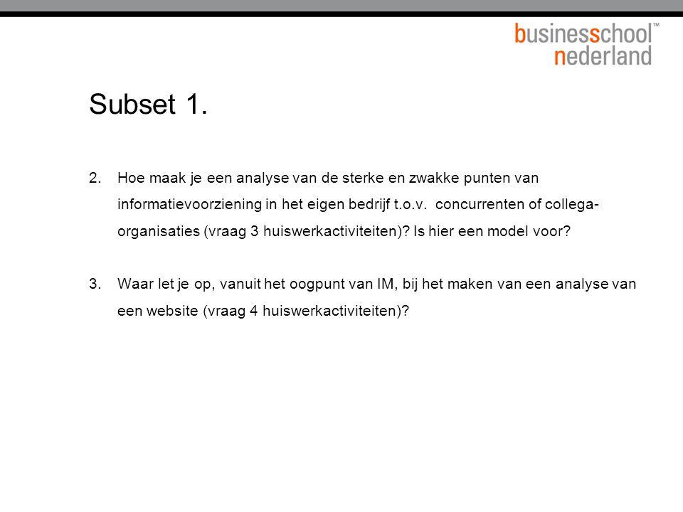 Titel presentatie Subset 1.
