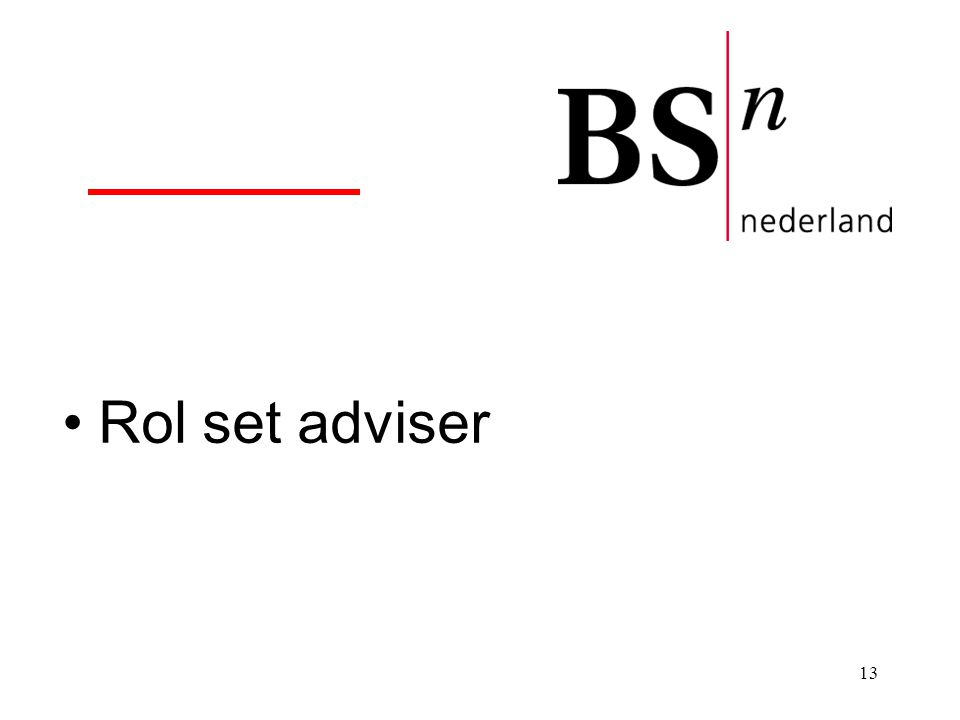 Rol set adviser