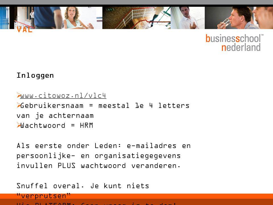 VAL Inloggen www.citowoz.nl/vlc4