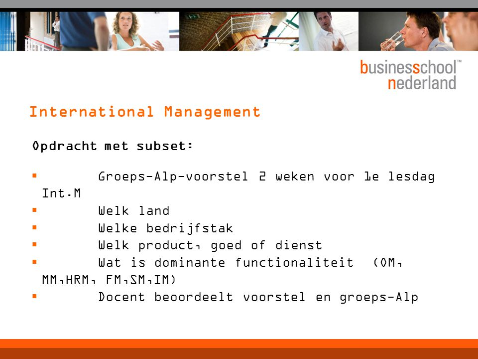 International Management