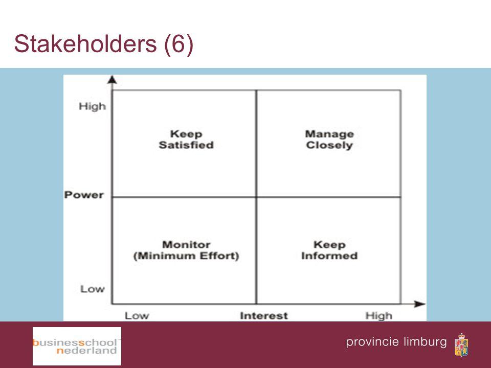Stakeholders (6)