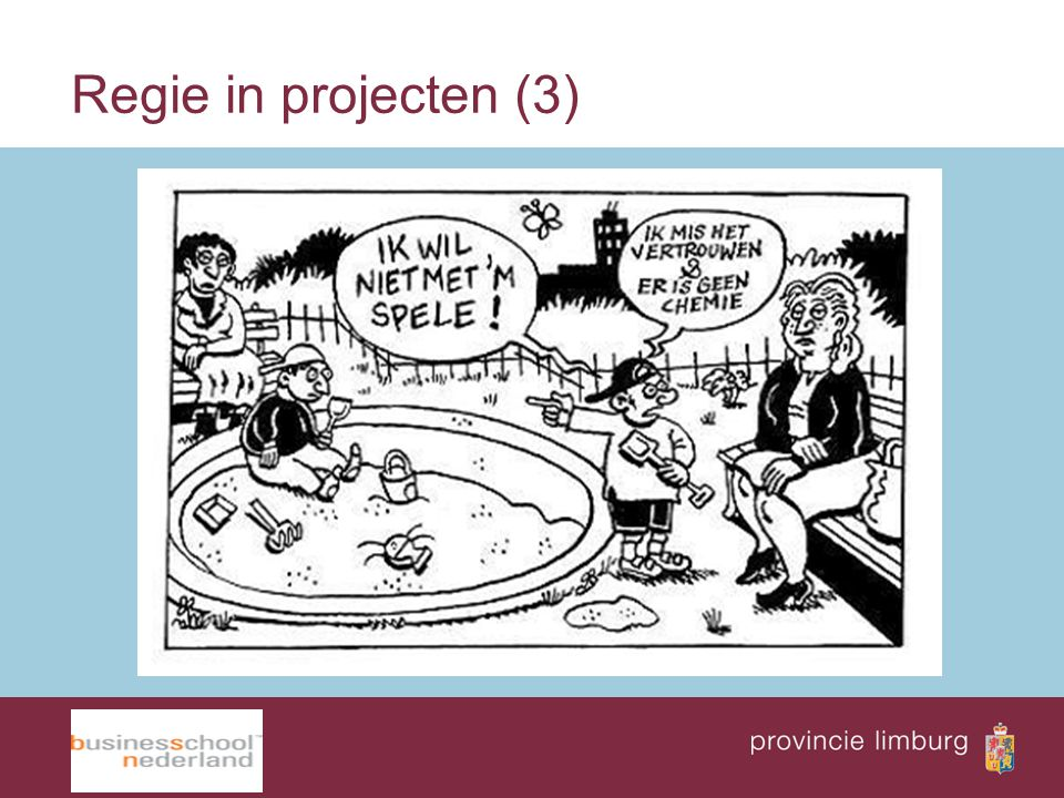Regie in projecten (3)