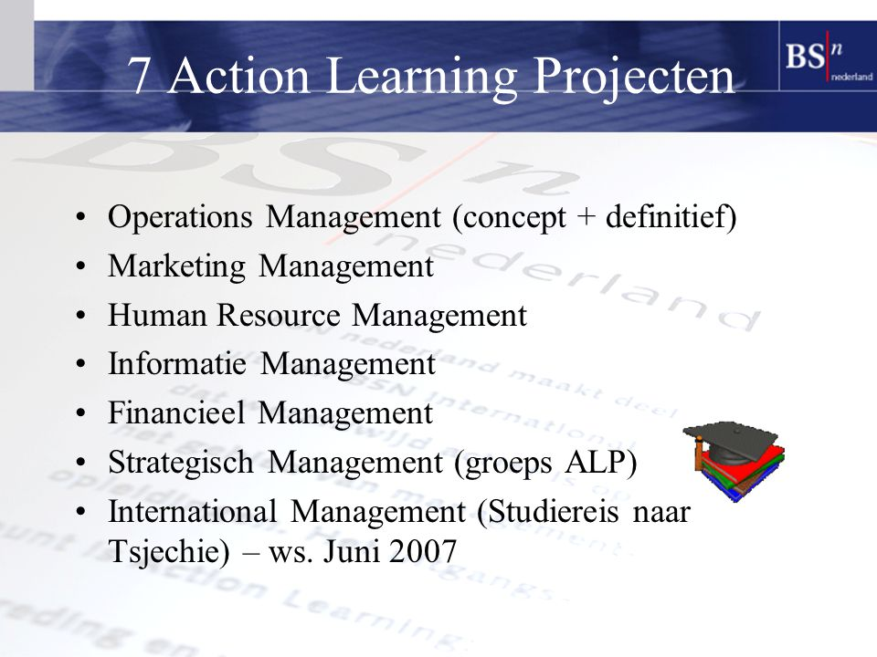 7 Action Learning Projecten
