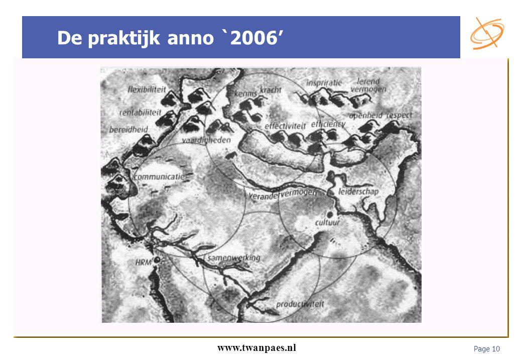De praktijk anno `2006'