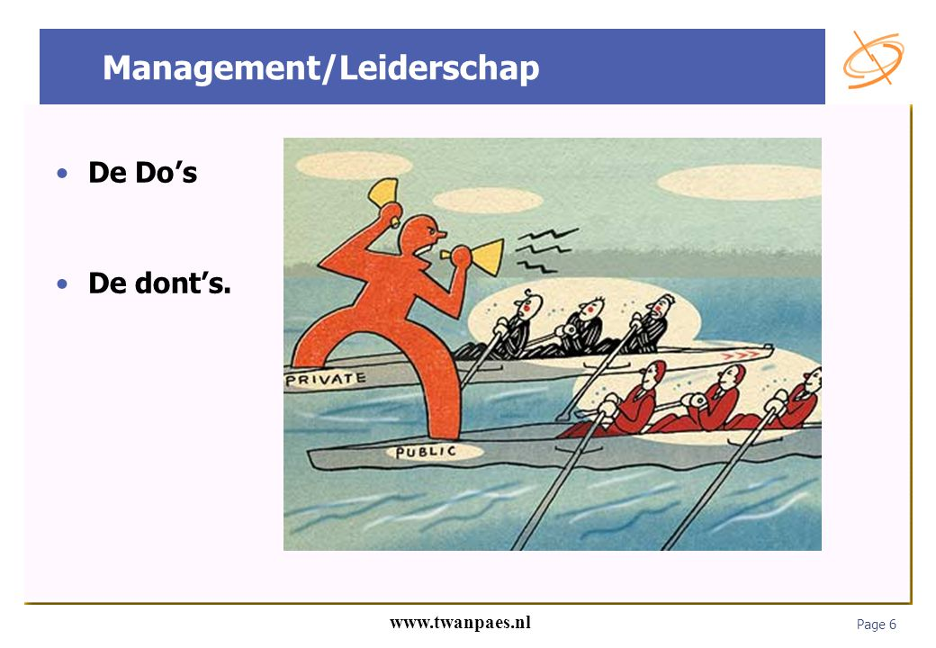 Management/Leiderschap