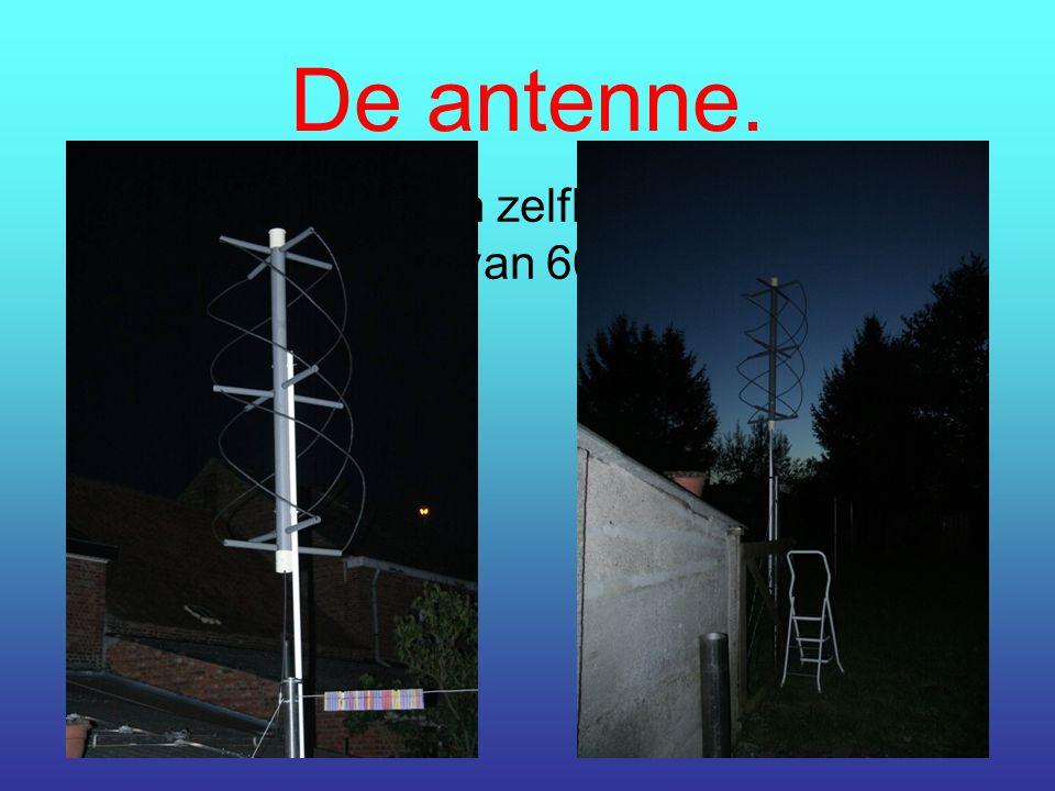 De antenne.