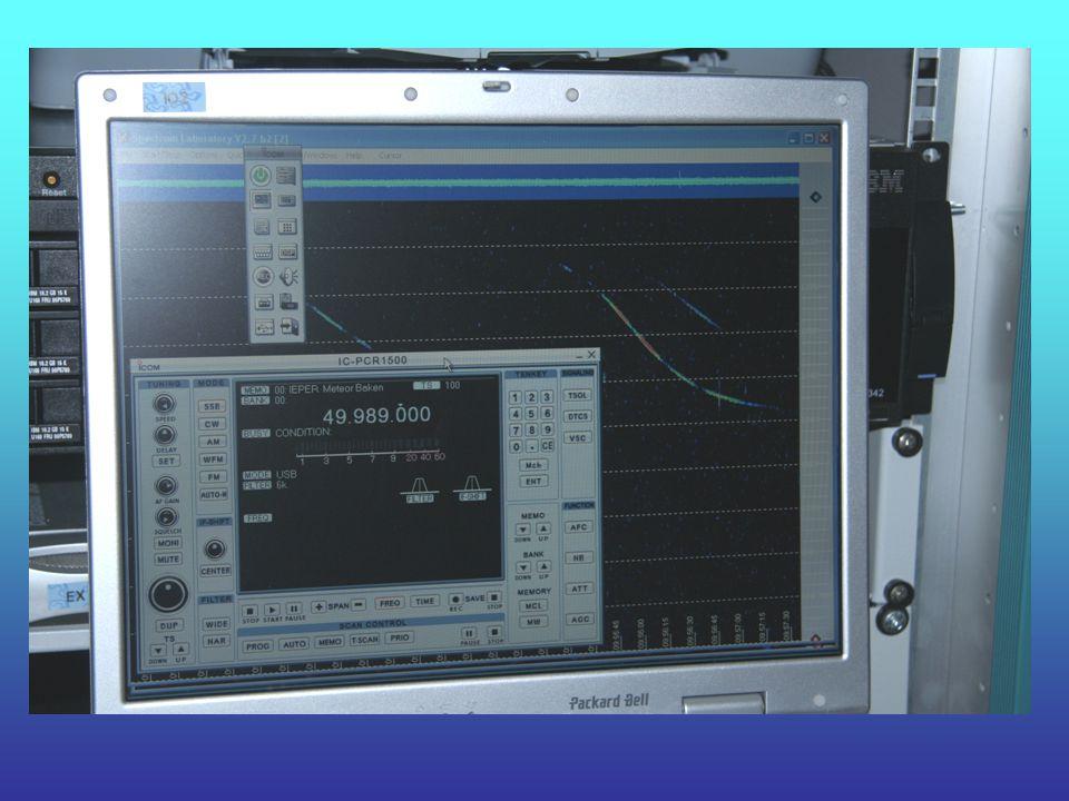 De Software Voor de ontvanger wordt de bijgeleverde software gebruikt.