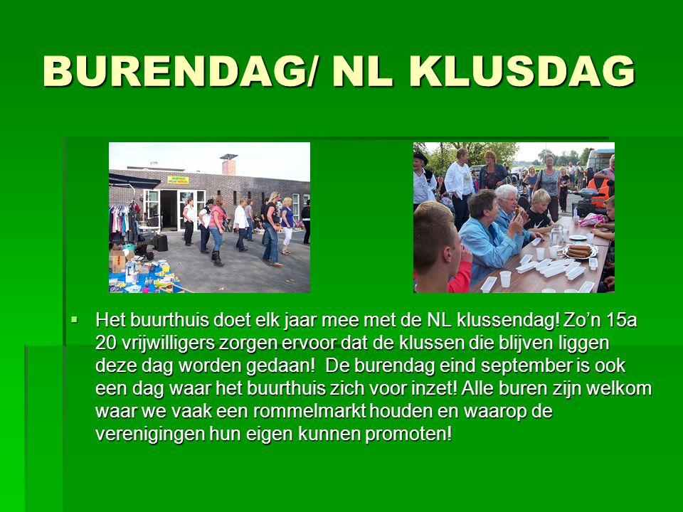 BURENDAG/ NL KLUSDAG