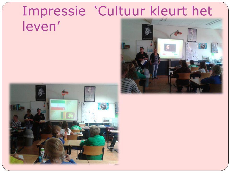 Impressie 'Cultuur kleurt het leven'