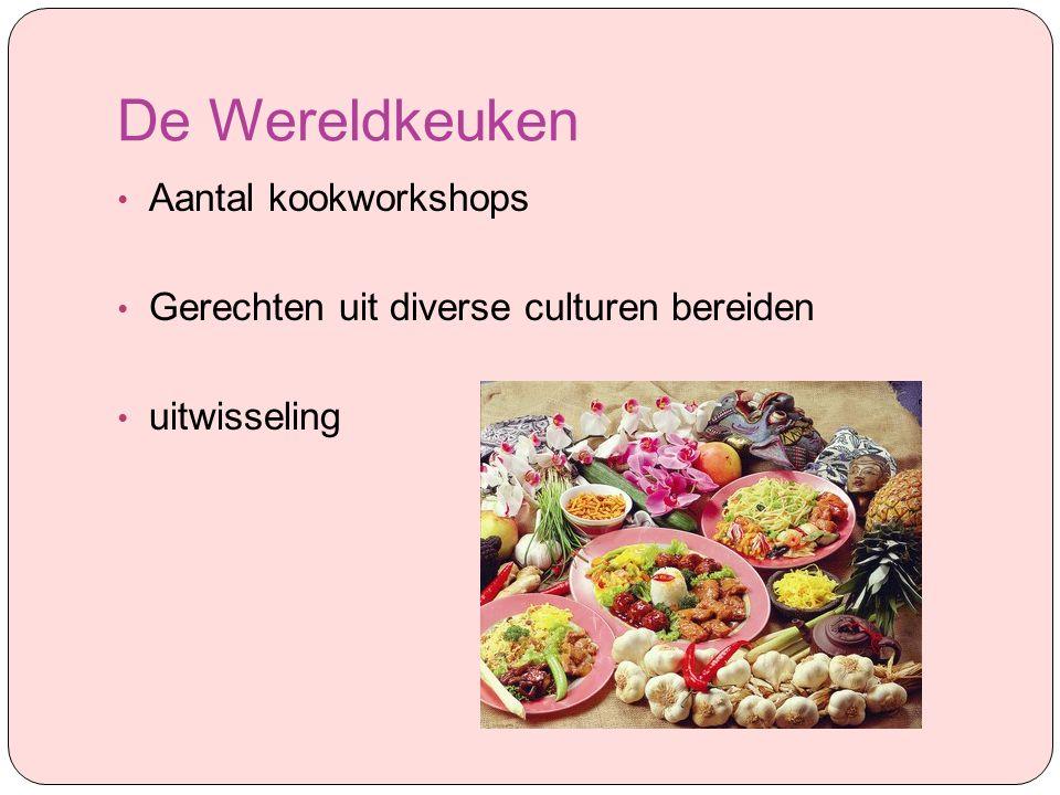 De Wereldkeuken Aantal kookworkshops