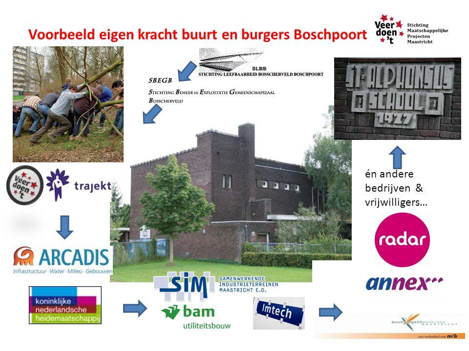 Voorbeeld eigen kracht buurt en burgers Boschpoort