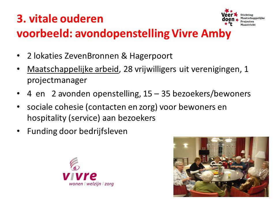 3. vitale ouderen voorbeeld: avondopenstelling Vivre Amby