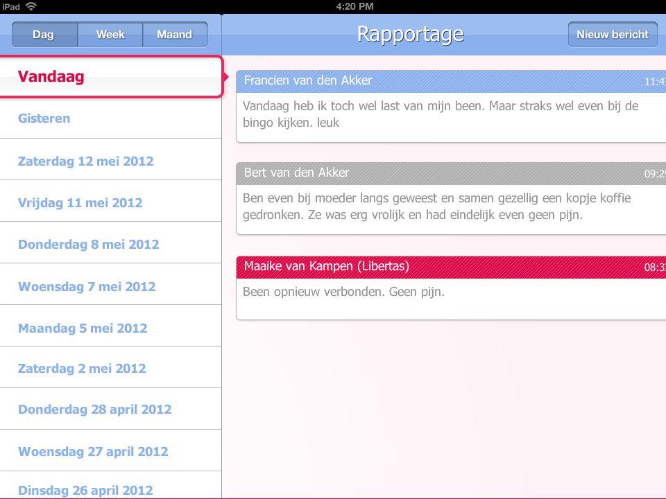 Zelfregie app