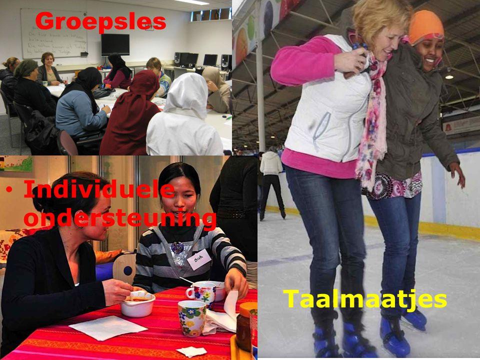Groepsles Individuele ondersteuning Taalmaatjes