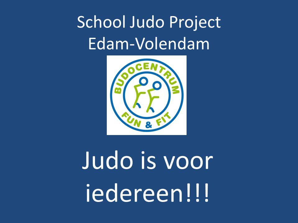 School Judo Project Edam-Volendam