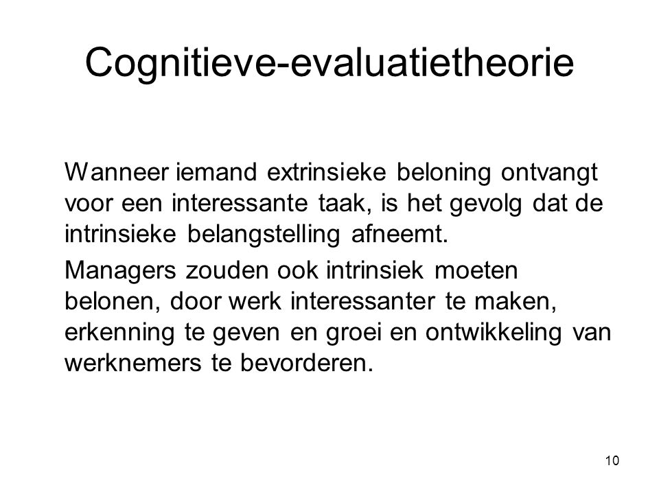 Cognitieve-evaluatietheorie