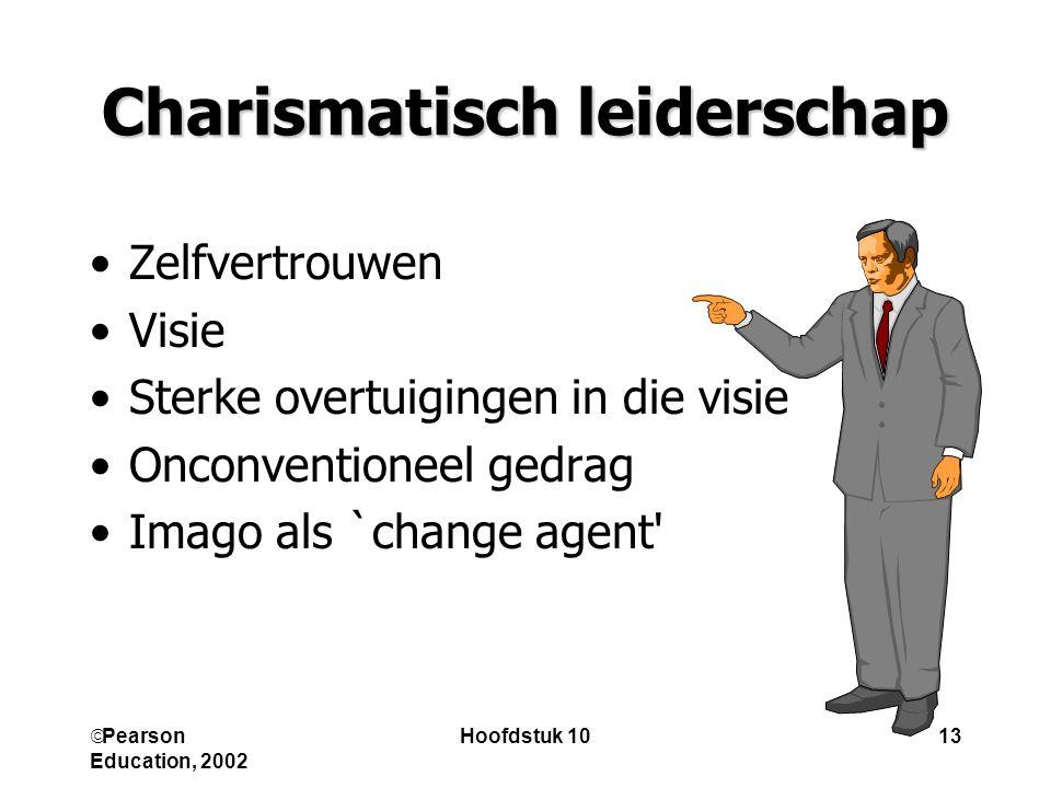 Charismatisch leiderschap