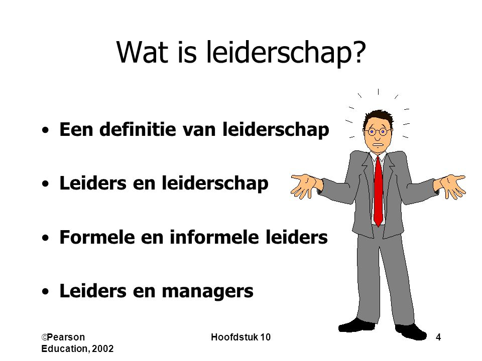 Wat is leiderschap Een definitie van leiderschap
