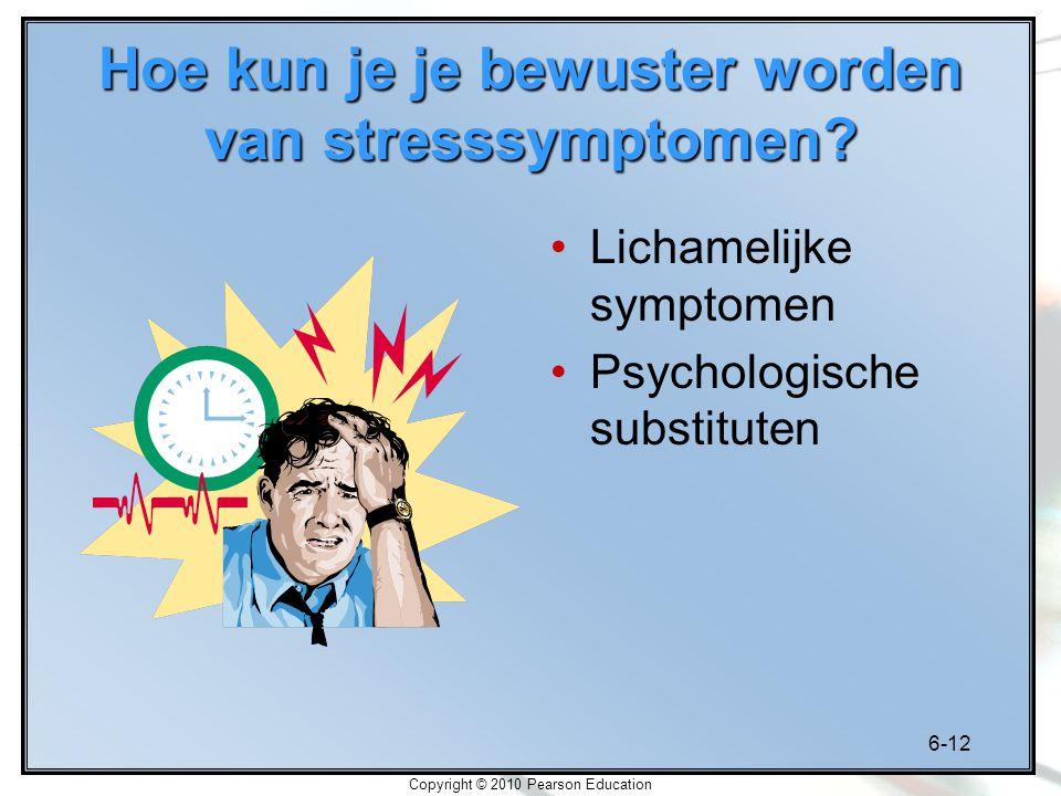 Hoe kun je je bewuster worden van stresssymptomen