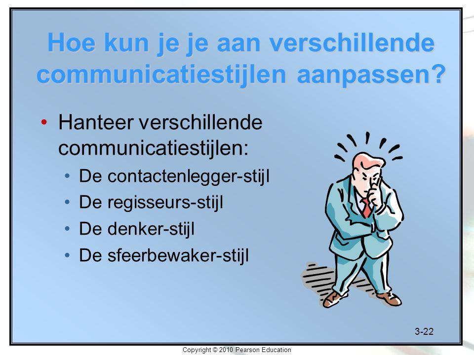 Hoe kun je je aan verschillende communicatiestijlen aanpassen