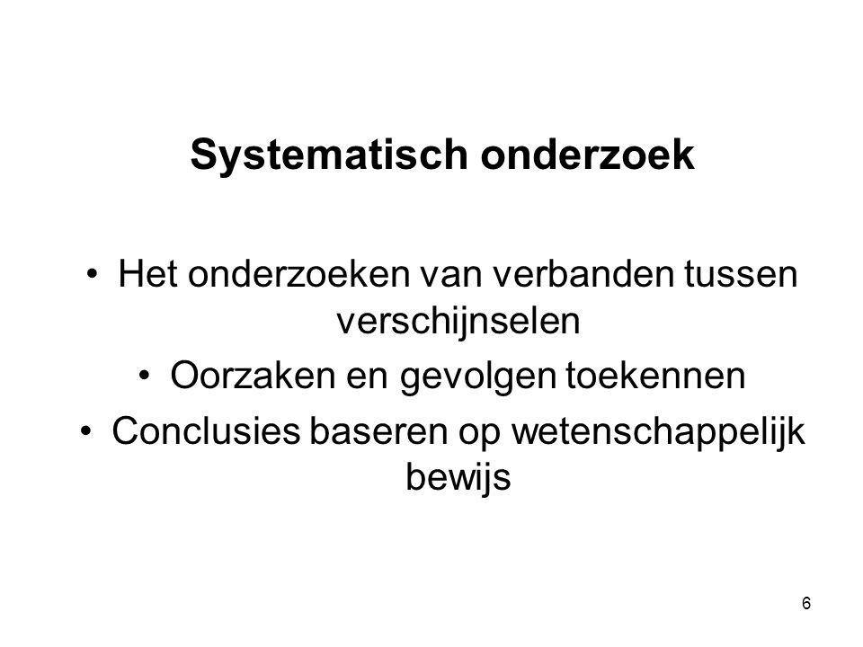 Systematisch onderzoek
