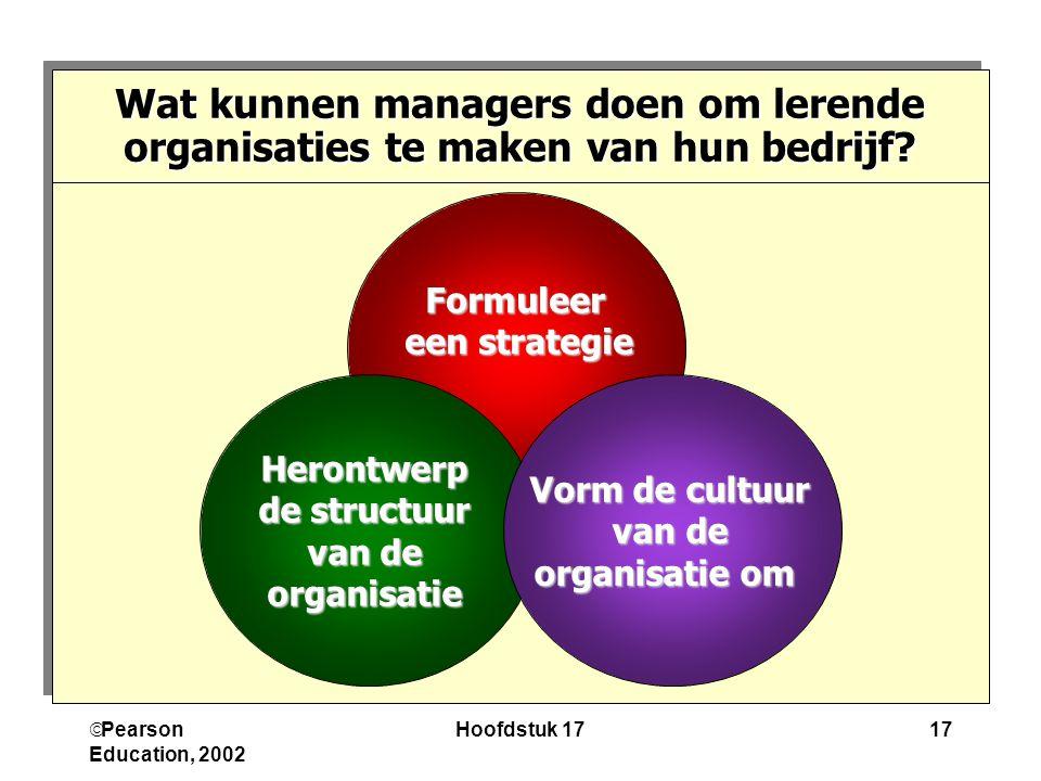 Wat kunnen managers doen om lerende organisaties te maken van hun bedrijf