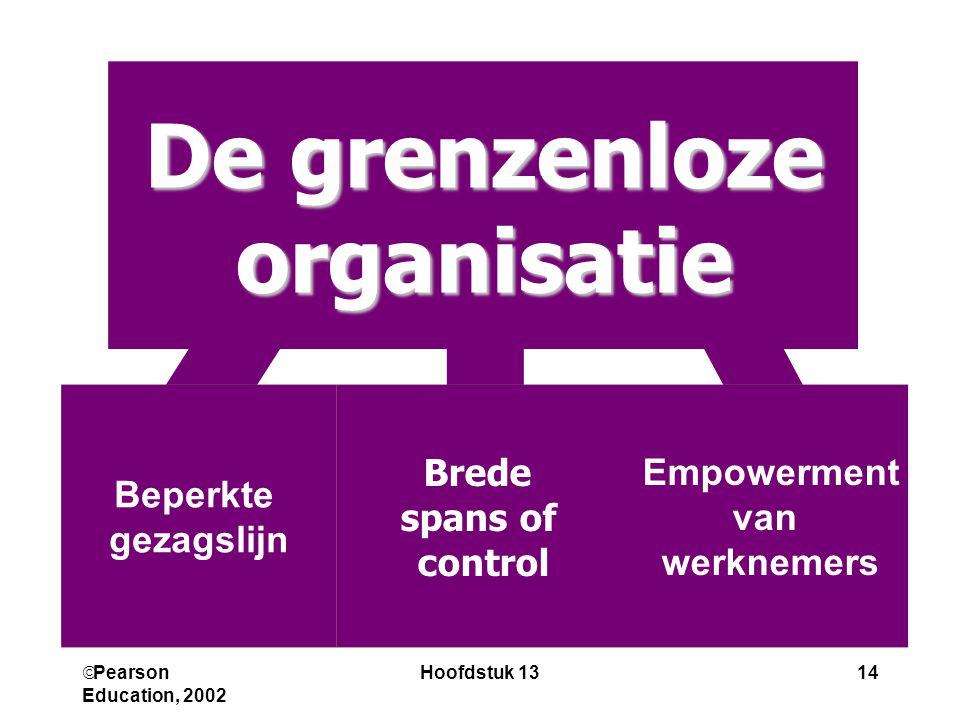 De grenzenloze organisatie