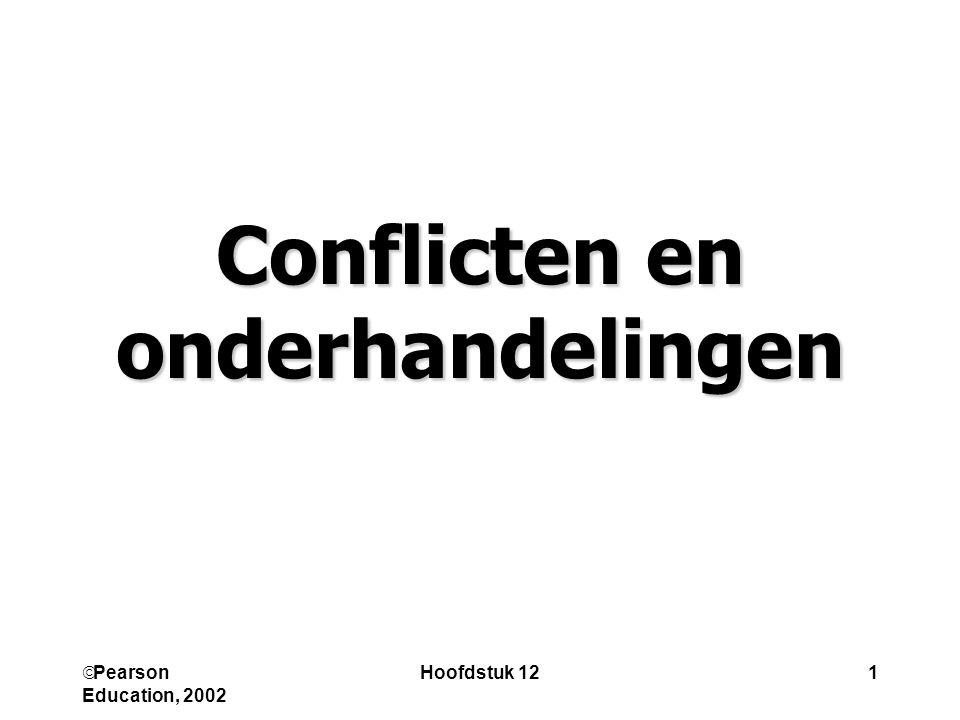 Conflicten en onderhandelingen