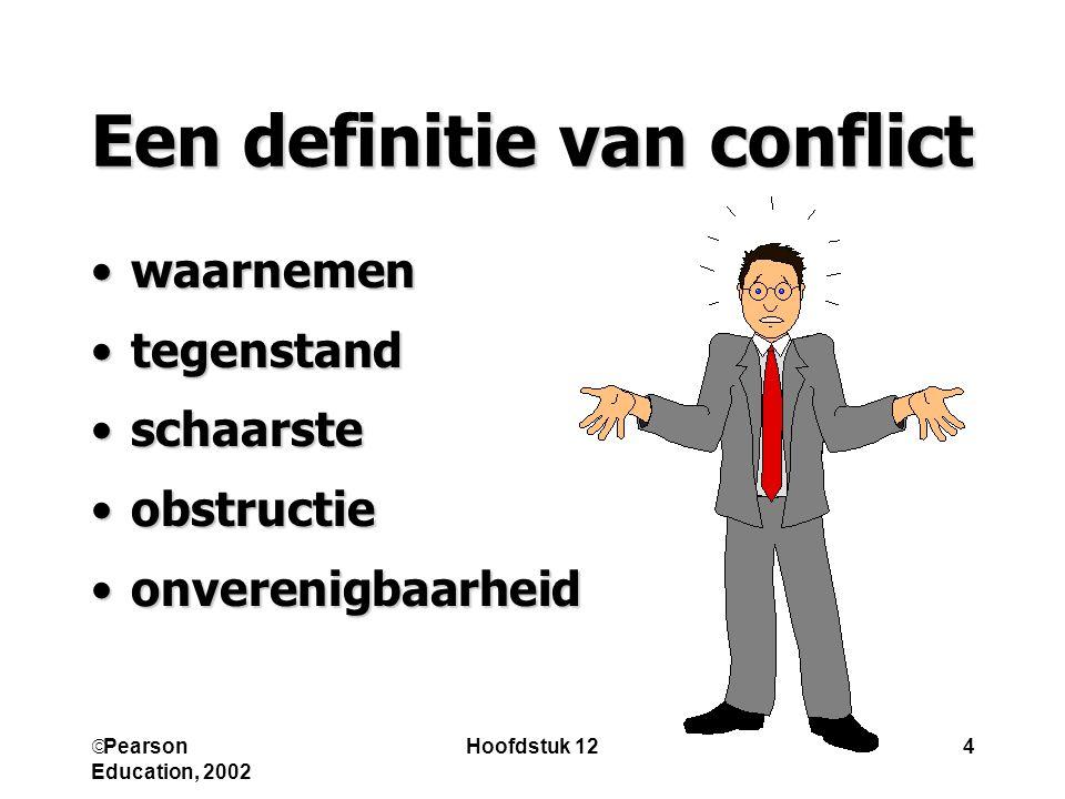 Een definitie van conflict