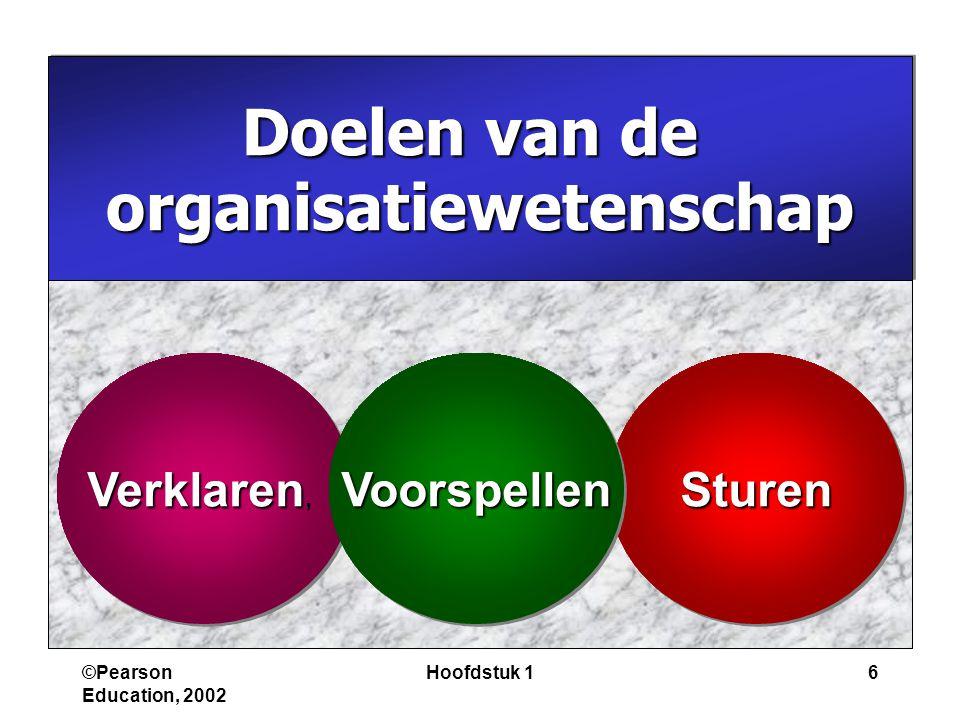 organisatiewetenschap