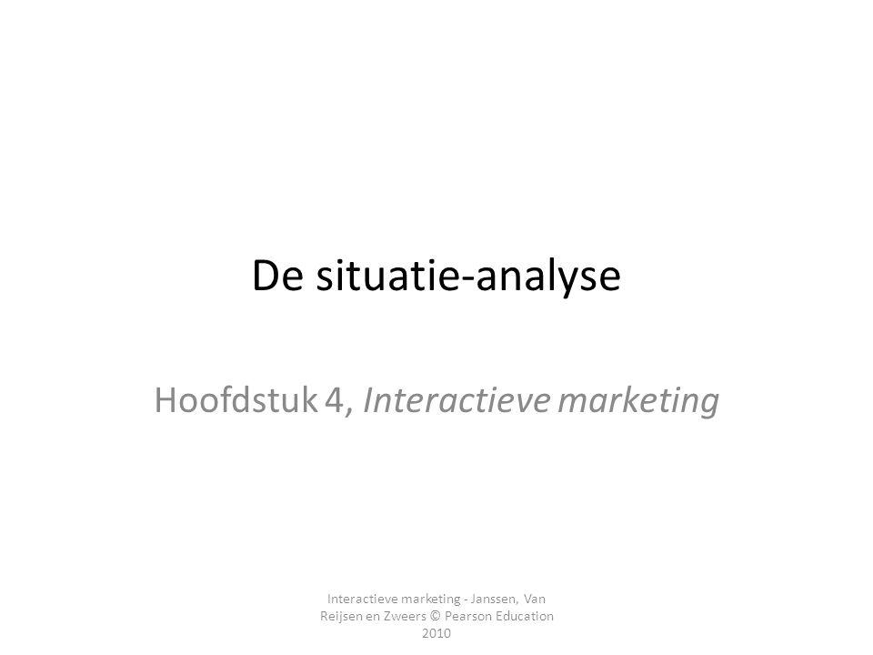 Hoofdstuk 4, Interactieve marketing