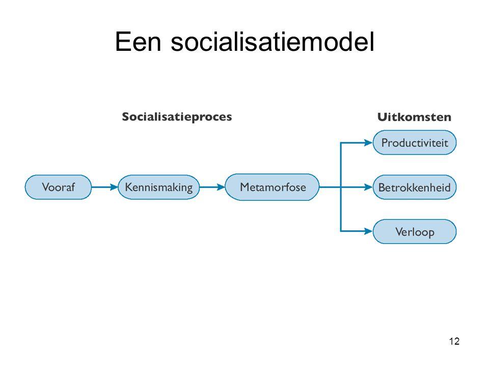 Een socialisatiemodel