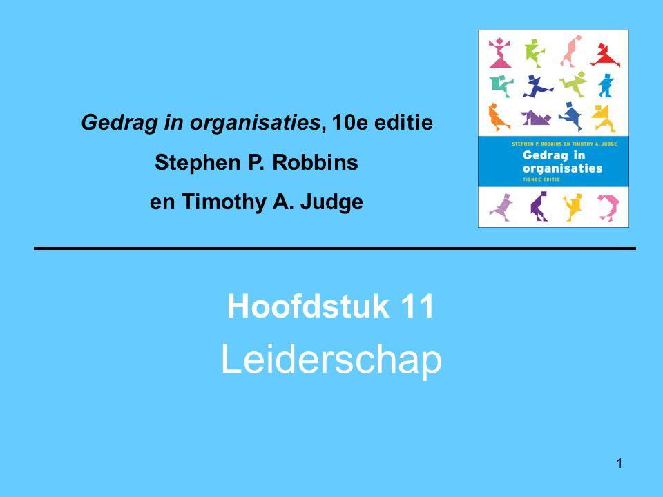 Gedrag in organisaties, 10e editie
